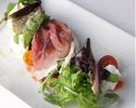 【プリフィクスBコース】厳選食材を使ったイタリアンに舌鼓!前菜+選べるパスタ+選べるメイン+ドルチェの全4品