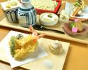 おばん菜や天ぷら・細打ちうどんの御膳「雅(みやび)」