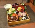 【白木御膳~庭園~】ご家族お友達とのお食事に厳選素材で誂えた和洋料理を盛り込んだ人気のランチ
