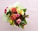 ★【オプション】 季節の花束¥5,000(税抜)