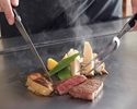 Teppanyaki SELECT  (Sat, Sun and national holidays) Y3,900