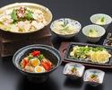 【ディナーコース】旬才コース(全6品)+フリードリンク1500円