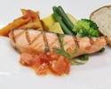 【ハーフブッフェ】サラダ・ドルチェ・デザート+ドリンクお替り可(4種から選べるお肉やお魚料理 土日祝)