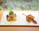 Lunch お魚とお肉のWメインコース