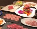 11月12月限定秋の将軍コース(肉ケーキ、塊肉、たくさんの種類を少しずつ楽しめるお得コース