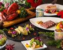 【クリスマス限定ディナー】クリスマス ペアディナーAコース          1部 18:00~19:45  2部 20:00~21:45