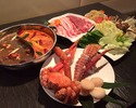 【5種類のスープから選べる薬膳海鮮2色鍋♪】CCB薬膳コース