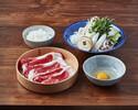 【ランチ】国産牛すき焼きセット