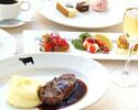 【ランチ】メインは21日間熟成アンガスリブステーキ350g!お肉好きにはたまらないボリュームランチ
