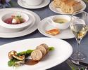 彩り、味わい、薫り豊かに仕上げたOZAWAのディナーコース(A+B+Cの3品のコース)