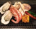 (二日前予約)土日祝ランチ焼き牡蠣の食べ放題