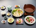 本格いろりぼたん鍋(昼・夜ご利用可能)