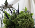 母の日花束付きペアディナー