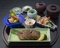 ディナー【牛タン炭火焼御膳】牛タンと新鮮なお造りを楽しめます