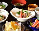 【昼宴プラン】季節の食材を楽しむ全9品のスタンダードプラン《彩コース》