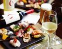 【飲み放題(A)付き】ディナーブッフェ +飲み放題(赤白ワイン、ビール、ソフトドリンク)