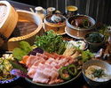 Okinawa cuisine and Yanbaru Island Agu steaming course