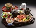 牛網焼ステーキ御膳(100g)¥5170