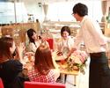 ≪カフェで記念日≫パティシエ特製ホールケーキ付【お祝いコース】サプライズにも最適♪2時間