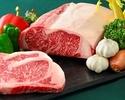 【web予約期間限定】長崎和牛ステーキコース ¥12,000 ⇒ ¥11,000