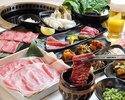 【90 minutes】 All you can eat Kuroge Wagyu beef & ago pig 3800 yen course