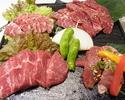 【90分飲放付】黒毛和牛&アグー豚食べ放題5000円コース