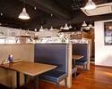 和牛ステーキ含むお料理全8品+飲み放題付き5000円コース (税抜)