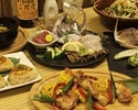 【party】8 course meals + 2.5h all you can drink