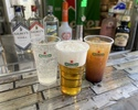[Sunset time] All-you-can-drink alcohol drinks and soft drinks