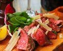 【3時間飲み放題】肉も魚も、料理充実の12品 Wメインのgrigio特選コース