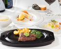 CHEF'S COURSE 7300円(フィレ150g)