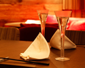 【Xmas2018 公式ホームページオンライン早期予約限定割引価格】食前酒にグラスシャンパーニュをご用意。