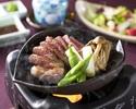 Beef sirloin steak set menu (120 g)