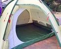 宿泊用テント(grand hut 4)・・・3,500円(税込3,850円)