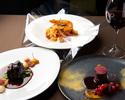 【Dinner】Prefix 3 plates  5,500 yen(メニューより3品お選び下さい。)