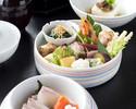 【ランチ】旬の食材で彩る3段弁当にデザートの盛り合わせ等~手まり弁当~