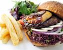 [WEB reservation limited] Foie gras burger set [WEB reservation bonus included]