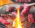 2 people 【All you can eat at Yakiniku Premium Yakiniku 82 kinds of all-you-can-eat and 79 unlimited drinks】