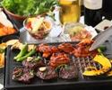 【お肉食べ放題プラン】神南軒特製BBQコース+2時間飲み放題付き