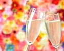 [Special offer for Online Booking] Limited Time Offer! Seasonal Afternoon tea set in free-flow drinks(sparkling wine)