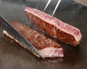 Dry aging course (150 g) ¥ 17000