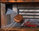 ランチ(黒毛和牛)炉釜炭火焼ステーキコース