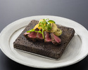 Yamagata Beef Steak & Live Hairy Crab  Course A《Sirloin steak》(Clab size is midiam)