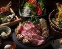 黒毛和牛特選すき焼きコース 2時間飲み放題付き 5500円(税込)