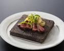 Yamagata Beef Steak & Live Hairy Crab  Course A  《Tender loin》(Crab saize is midium)