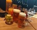 平日シュラスコランチ+飲み放題プレミアムコース¥5000(税別)