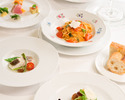 【Pranzo Stagione ◆ スタジオーネ】前菜5種盛、選べるパスタ、肉or魚から選べるメインなど全8品