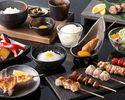 【KIWAMIコース】飲み放題付!とりや幸の魅力を満喫!京鴨の炙り焼き&比内地鶏の焼き鳥など充実ディナー
