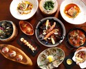 Chef's Seasonal Tasting 6-Plates with wine Pairing