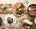 【乾杯スパークリング付き&食後のカフェ付!】前菜の盛り合せ、パエリアをご堪能いただけるランチ全4品コース